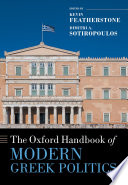 The Oxford handbook of modern Greek politics /