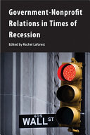 Government-nonprofit relations in times of recession /