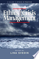 Ethics and crisis management /