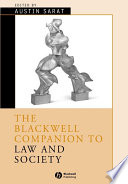 The Blackwell companion to law and society /