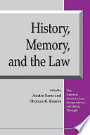 History, memory, and the law /