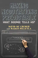 Making negotiations predictable : what science tells us? /