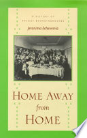 Home away from home : a history of Basque boardinghouses /