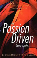The passion driven congregation /