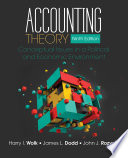 Accounting theory : conceptual issues in a political and economic environment /