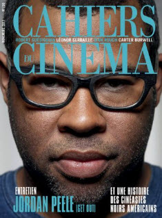 Cover art: Cahiers du Cinema journal