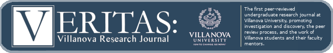 Veritas: Villanova Research Journal. The first peer-reviewed undergraduate research journal at Villanova University, promoting investigation and discovery, the peer review process, and the work of Villanova students and their faculty mentors.